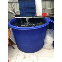 港诚 500升圆形牛津料活鱼桶运输渔桶 500公斤水产运输桶 泥鳅黄鳝养殖桶虾桶
