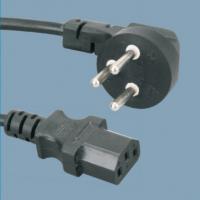 惠信通专业生产国内电瓶车充电器配套电源插头线 国标T字品字尾插头线