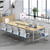 办公家具办公桌椅会议桌长条桌职员电脑桌4/6/8屏风工位厂家直销
