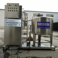 盛众机械鲜奶杀菌机,酸奶巴氏消毒机 150L单灌牛奶杀菌机