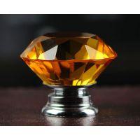 现代简约水晶钻石球衣柜抽屉橱柜柜子单孔门把手拉手厂家定做
