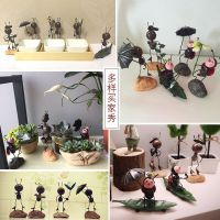 创意可爱动物桌面陶瓷装饰品摆件少女房间客厅电视柜小摆设