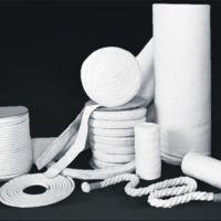 厂家直销 硅酸铝陶瓷纤维带 纤维绳 纤维布 纺织制品