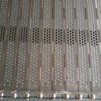 供应工业挡板式输送链板 定制平顶式链板清洗烘干机输送链板