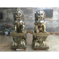 固原紫铜狮子|紫铜狮子铸造|铜雕厂支持定做来电咨询