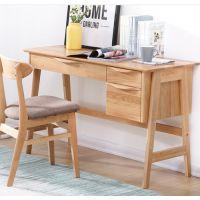 北欧白橡木书桌