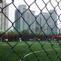 体育场围栏厂家 篮球场地护栏网 绿色包塑铁丝网