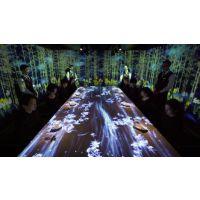 吉林省3D餐厅投影