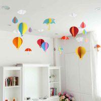 创意吊顶装饰品服装店幼儿园吊饰挂饰教室空中顶部天花板室内吊挂