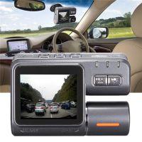Ebay热销 高清行车记录仪 支持前后翻转循环摄像广角不漏秒记录仪