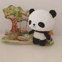 熊猫公仔 来图来样订做毛绒玩具 婴儿玩具 动漫周边 礼品赠品吊饰