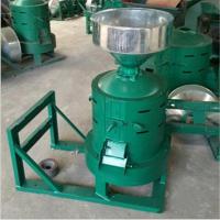 潮州砂辊式电动碾米机 农村小型加工碾米机重量轻
