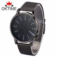 OKTIME 新款大气合金男表 休闲商务时装手表 日本机芯男装手表