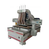 山东奎刻板式家具生产线厂家 供应木工四工序开料机 雕刻机