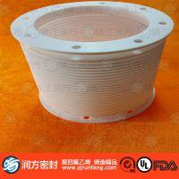大规格聚四氟乙烯PTFE波纹管、四氟大口径拉伸管、可以定做规格