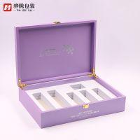 美日化包装厂家专业定制 PU皮盒 翻盖盒 护肤礼品盒 化妆品包装盒