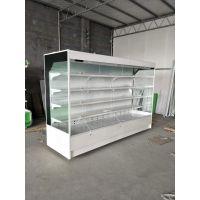 【洛阳市定做超市风幕柜拉门柜的厂家】酒水饮料奶制品冷藏柜