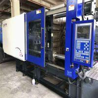 东莞二手530吨卧式曲肘注塑机全自动加料机注塑机配件