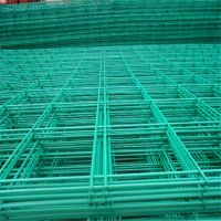 供应各规格双边丝围栏网批发包塑铁线防护围栏网护栏网价格围网