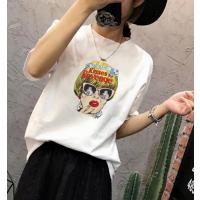 夏季韩版T恤厂家库存处理2-3元时尚T恤便宜短袖批发
