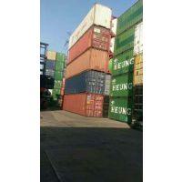 特价出售一批二手集装箱,40英尺高箱 12米标准集装箱