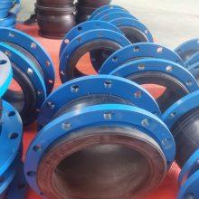 供应包头DN800L=500双波氟橡胶接头 烟风道耐高温橡胶接头