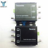3路监控视频复用器 视频信号叠加器 视频一线通传输 3路同轴视频