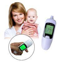 宝宝温度计 红外线体温计 婴儿耳温枪额温 人体物体电子体温计