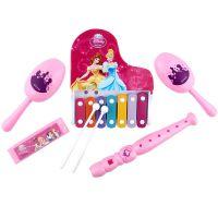 迪士尼授权米奇公主儿童手敲琴口琴竖笛沙锤五合一套装SWL-703