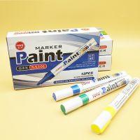 正品TOYO东洋油漆笔 SA101补漆笔 签到笔 白色油漆笔记号笔轮胎笔