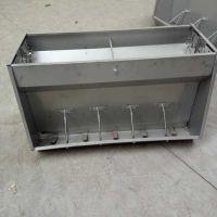 沃源畜牧猪用不锈钢食槽 干湿料槽 猪舍自动补料槽批发订购