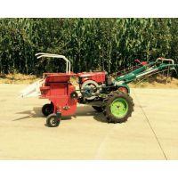 玉米收获秸秆粉碎机 小型山地适用手扶式玉米苞米收割机