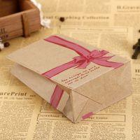 方底牛皮纸打包袋 糖炒栗子纸袋定做 通用食品袋