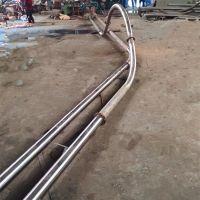 碳钢盘片耐高温上料机 多用途粉体料管链机