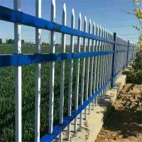 三横梁组装隔离栏 新农村围墙护栏 物流园建设围墙栏杆