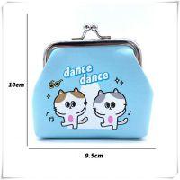 韩版创意儿童铁扣硬币钱包卡通可爱女孩小学生萌宠迷你手拿零钱包