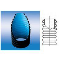 聚乙烯双壁波纹管、航天华创、华创天元、一次成型、双层结构壁管道