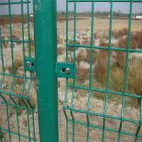 恒富公司 现货供应 双边丝护栏网 防护网 浸塑处理,当日发货