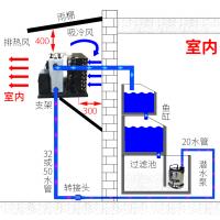 西安 供应 冷水机组 鱼缸风冷机组故障维修 依据客户需求确定