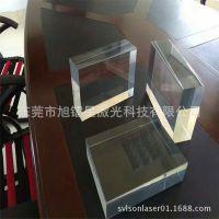 专业PC管亚克力镜片专用激光切割机发光字亚克力气泡棒激光雕刻机