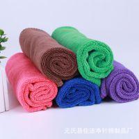 超细纤维毛巾干发巾美容美发理发店专用毛巾批发40*40