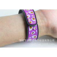 S50硅胶腕带 游乐场所硅胶腕带门票  原装M1芯片高频硅胶腕带