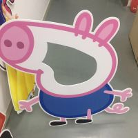 深圳汇美厂家供应PVC板人像立牌广告喷绘制作