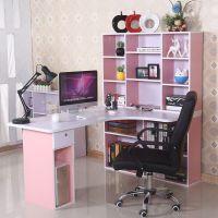 学习桌儿童书桌写字桌椅套装小学生书柜组合女孩男孩子家用