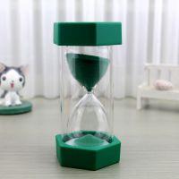 新款迷你六角沙漏5/10/15/20/30分钟创意家居桌面摆件小装饰