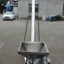 食品级不锈钢上料机 米面装包移动提升加料机