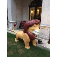 佛山小区公园玻璃钢卡通动物雕塑 佛山玻璃钢卡通雕塑厂家定制