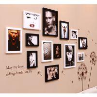 厂家直销相框墙热销 13框照片墙 创意相框 带画心