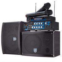 双诺KB-04家庭影院KTV卡包箱专业卡包音响 音箱套装电视音响