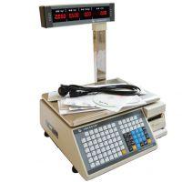 水果店条码打印计价秤 大华TM-15A标签打印电子称 收银称重一体机